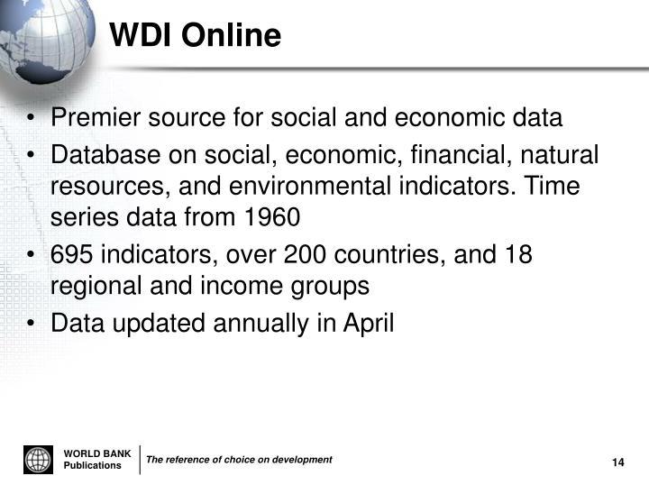 WDI Online