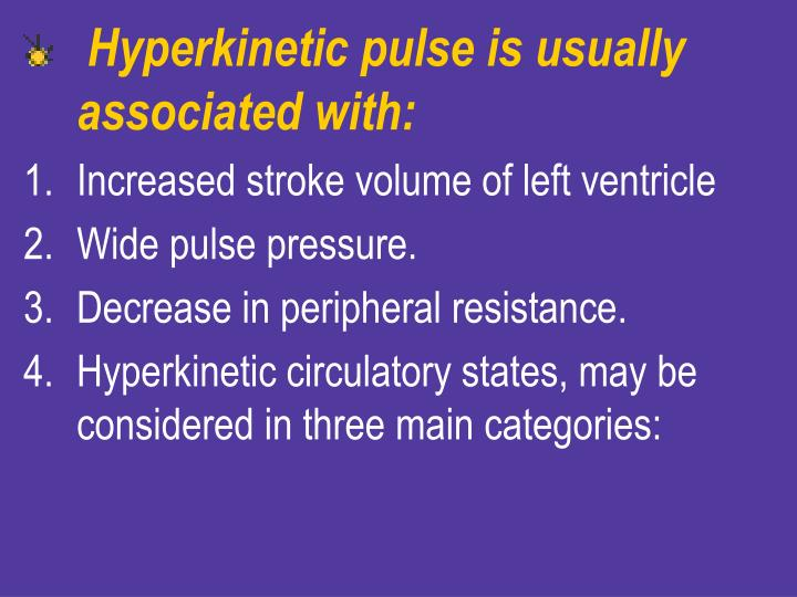 Hyperkinetic pulse is usually associated with: