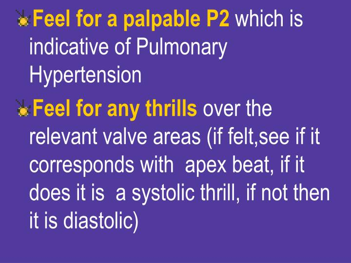 Feel for a palpable P2