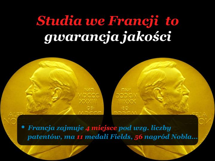 Studia we Francji  to