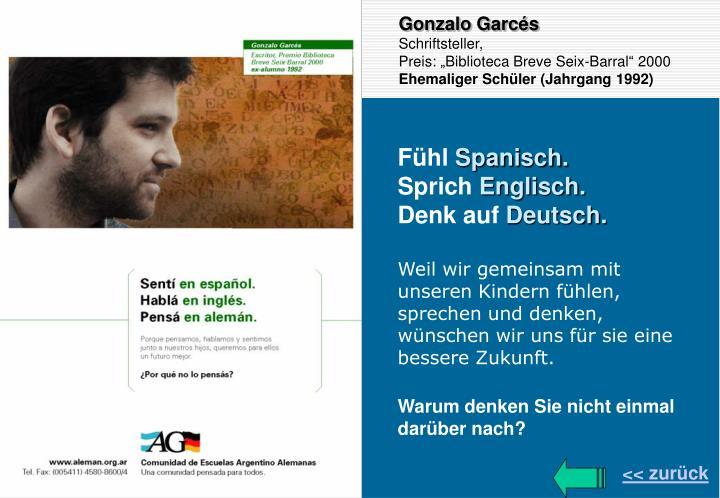 Gonzalo Garcés