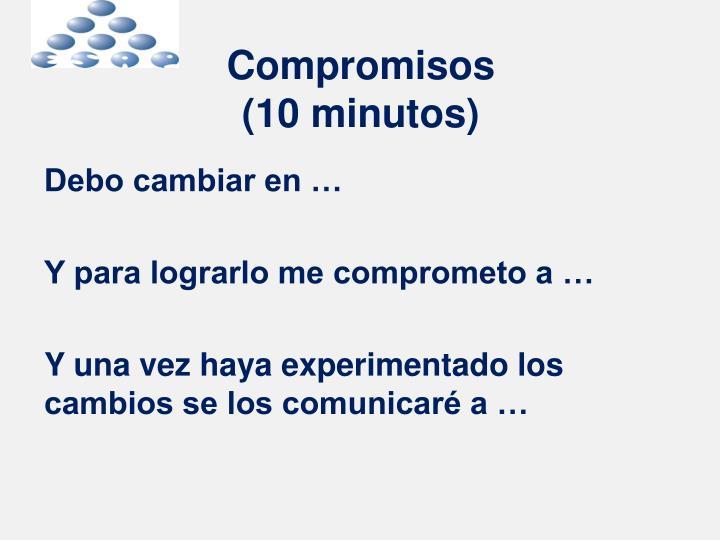 Compromisos