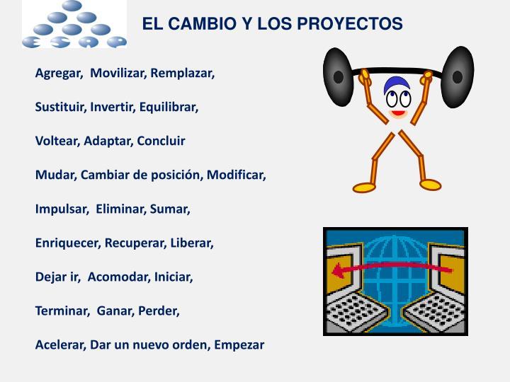 EL CAMBIO Y LOS PROYECTOS