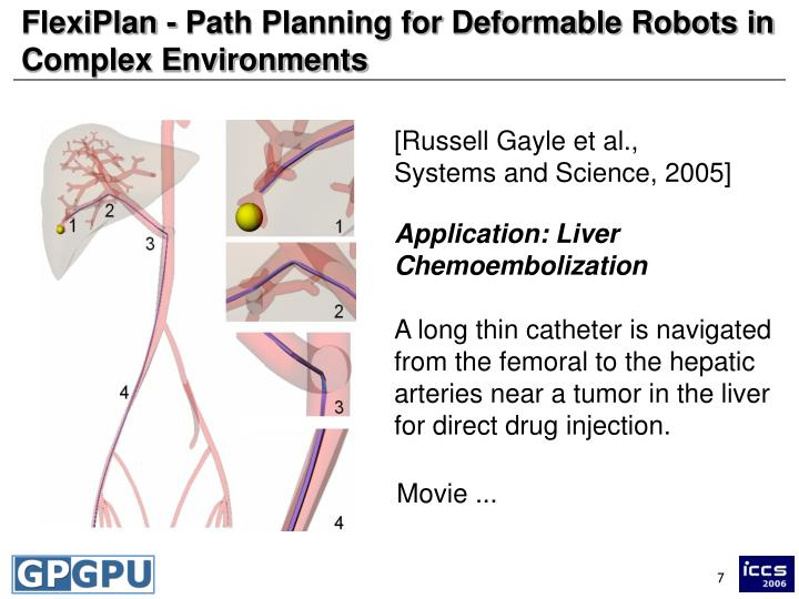 FlexiPlan - Path Planning for Deformable Robots in Complex Environments