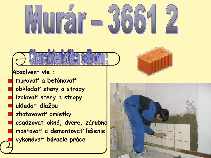Murár – 3661 2