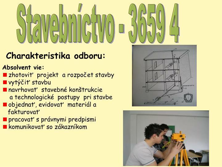 Stavebníctvo - 3659 4