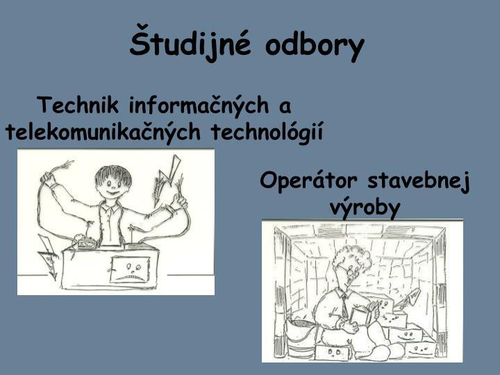 Študijné odbory