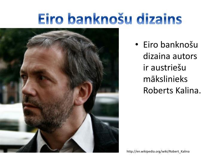 Eiro banknou dizains