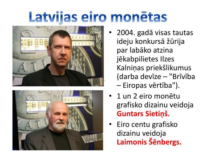Latvijas eiro montas