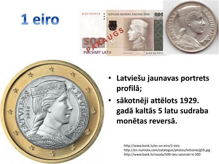 1 eiro