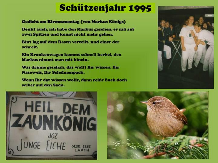Gedicht am Kirmesmontag (von Markus Königs)