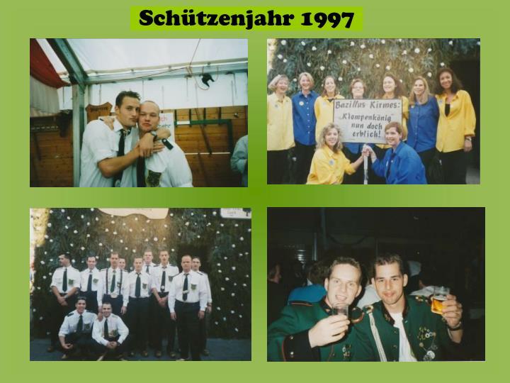 Schützenjahr 1997