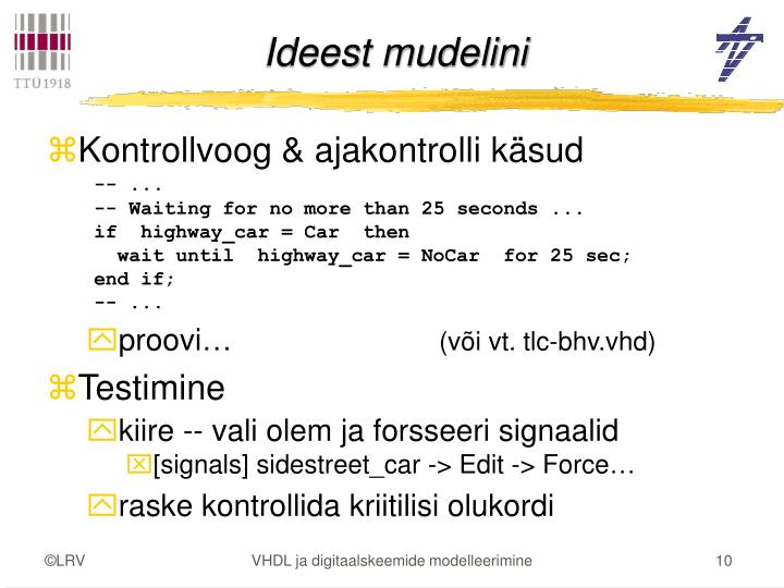 Ideest mudelini