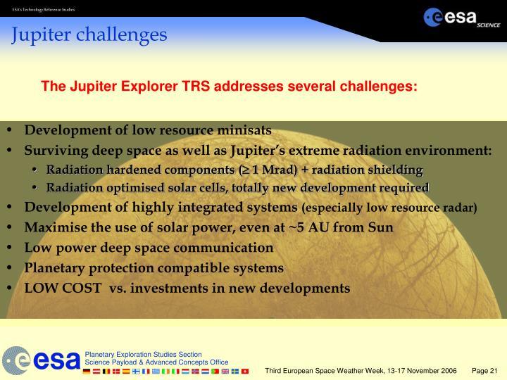 Development of low resource minisats