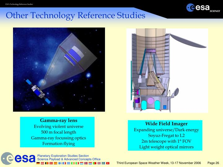 Other Technology Reference Studies