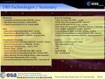 trs technologies summary