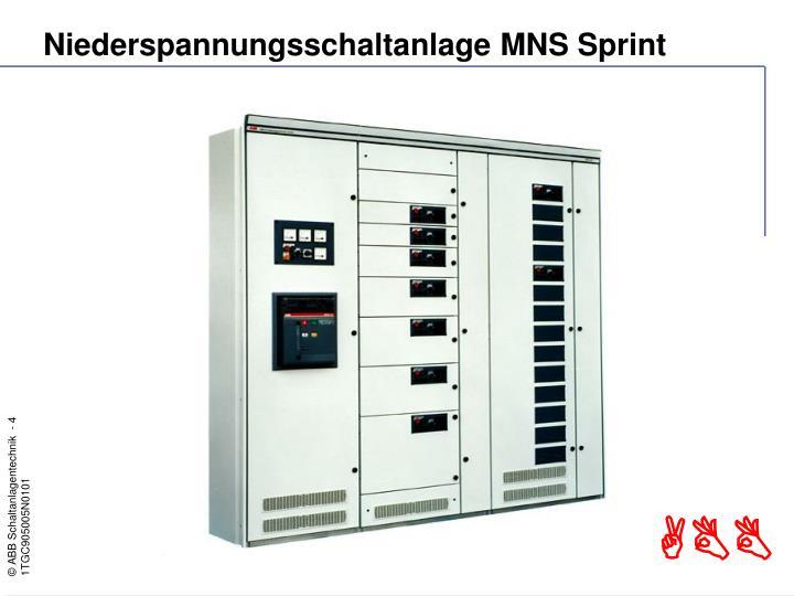 Niederspannungsschaltanlage MNS Sprint