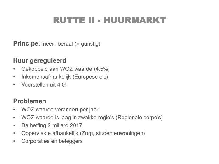 Rutte II - huurmarkt