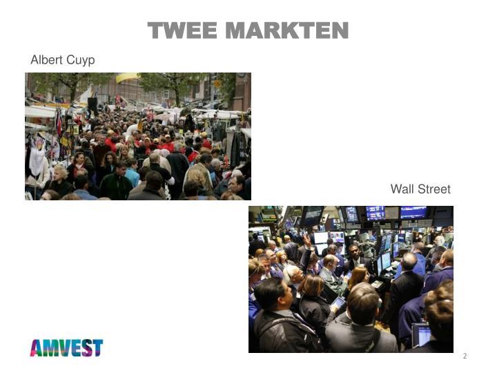 Twee markten