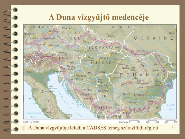 A Duna vízgyűjtő medencéje