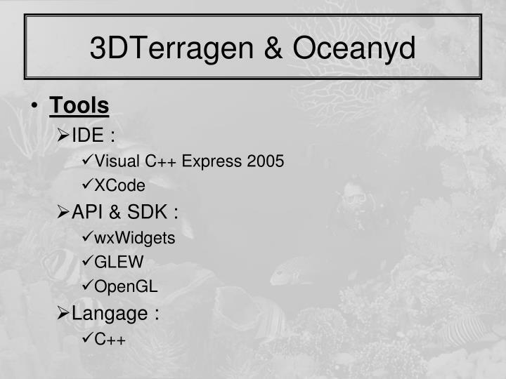 3DTerragen & Oceanyd