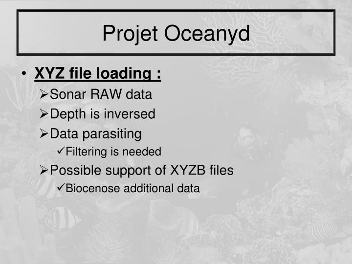 Projet Oceanyd