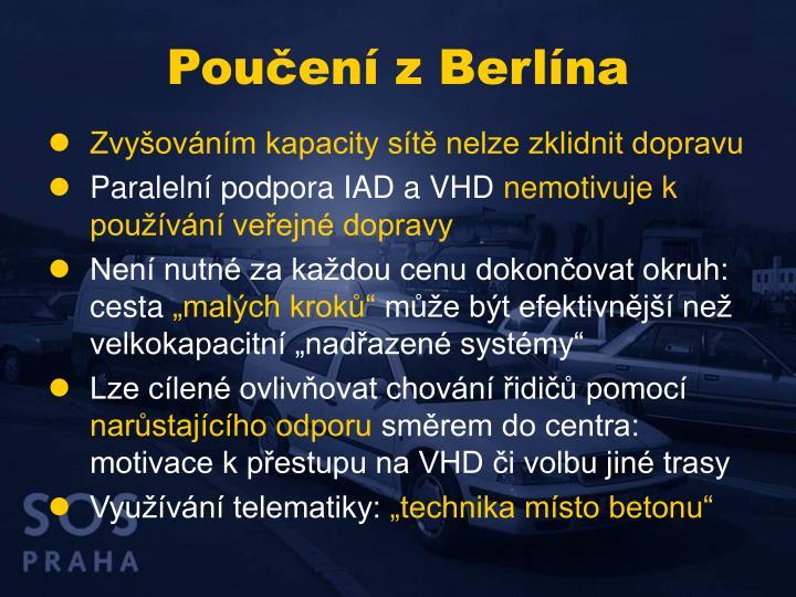 Poučení z Berlína