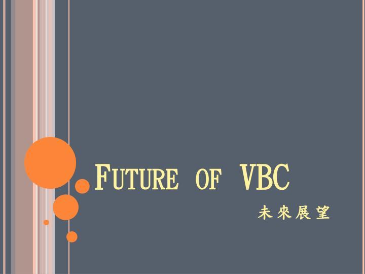 Future of