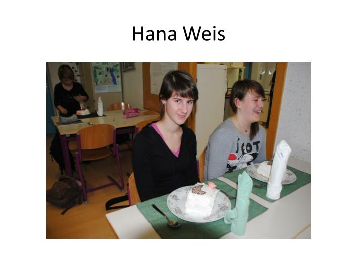 Hana Weis