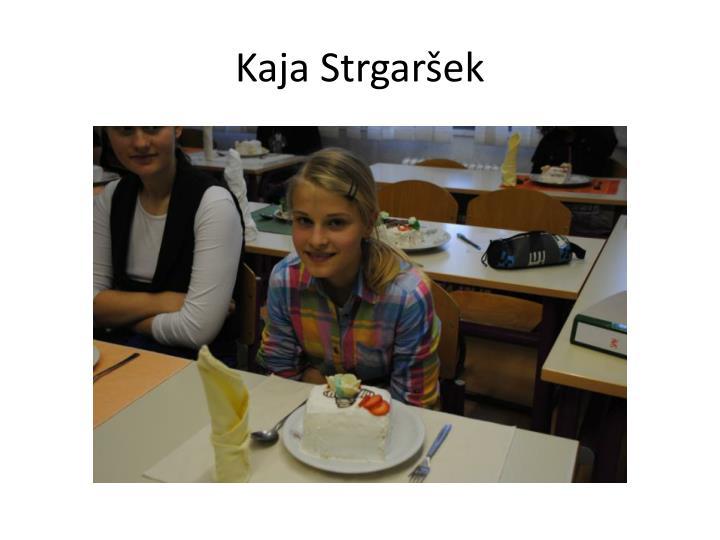 Kaja Strgaršek