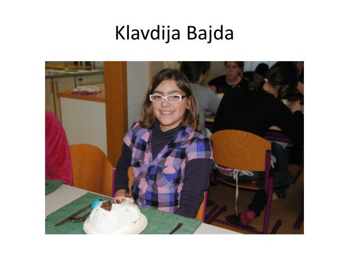 Klavdija Bajda