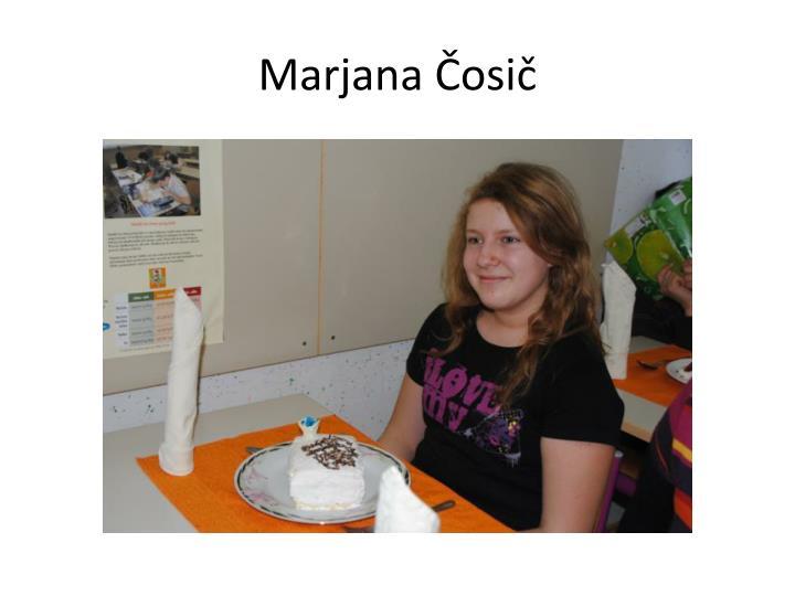 Marjana Čosič