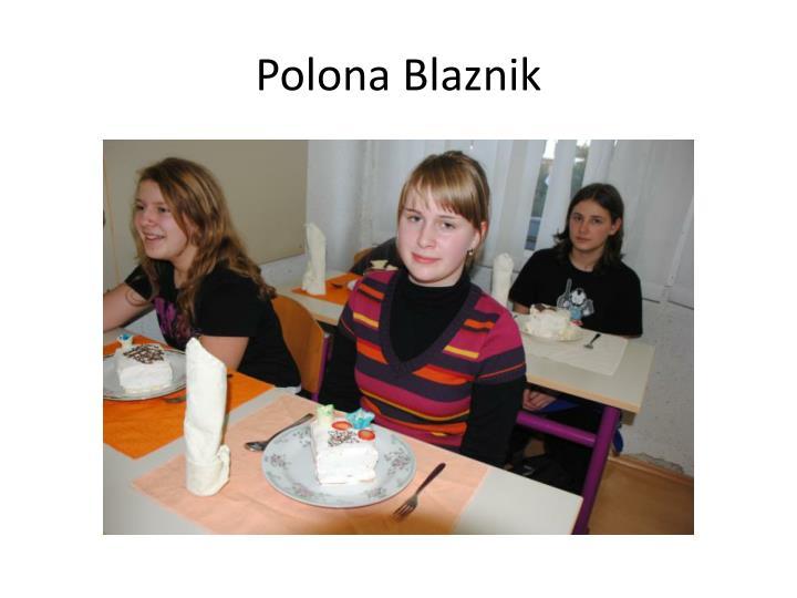 Polona Blaznik