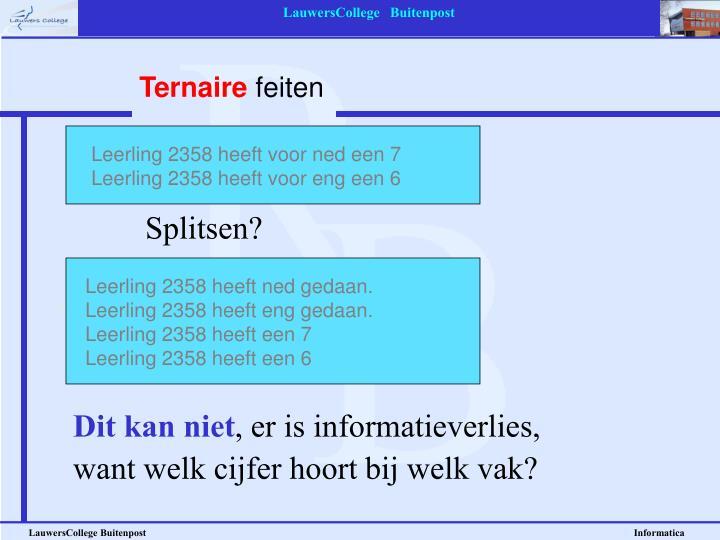 Ternaire