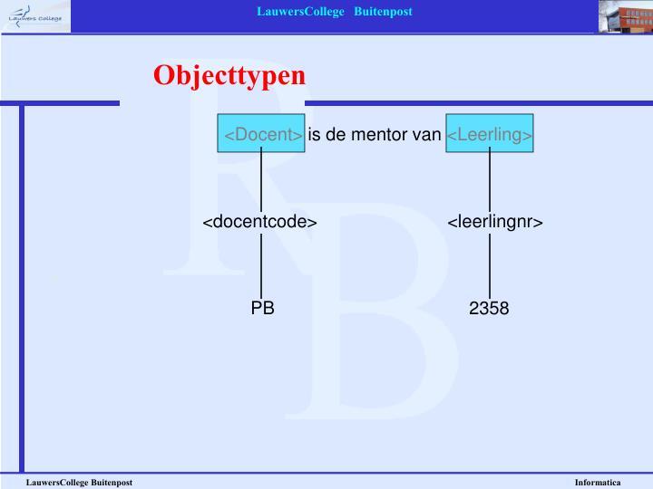 Objecttypen