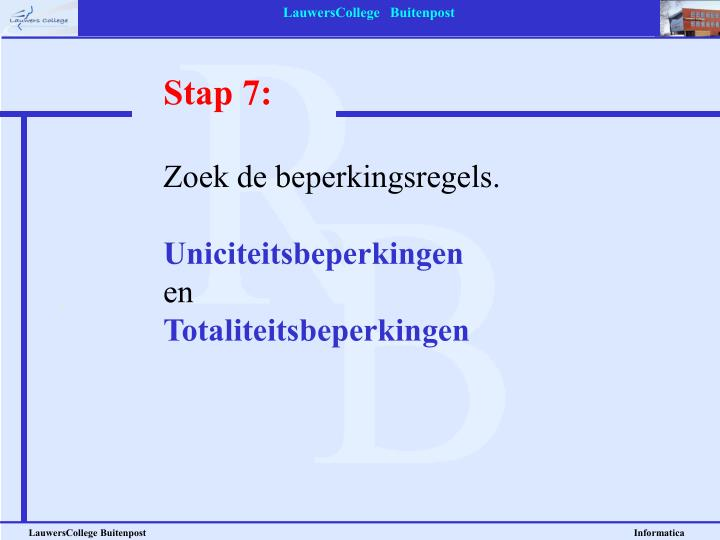 Stap 7: