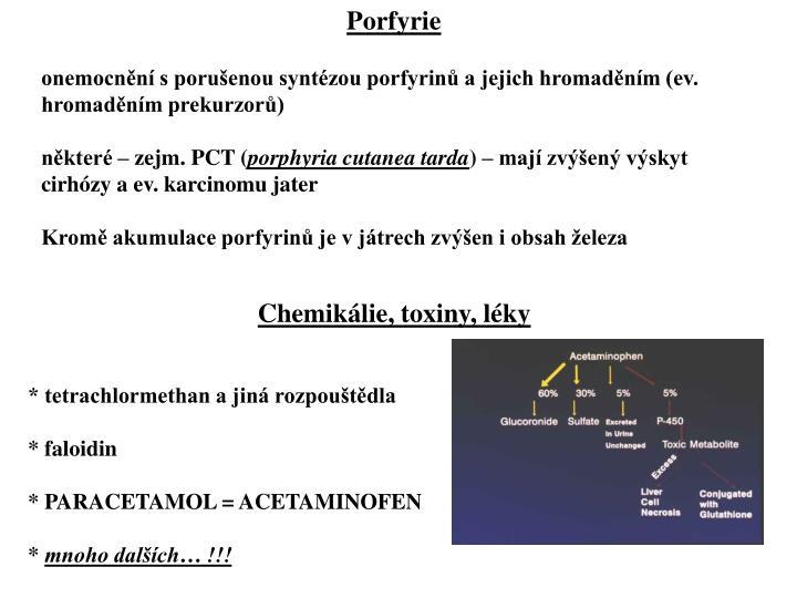 Porfyrie