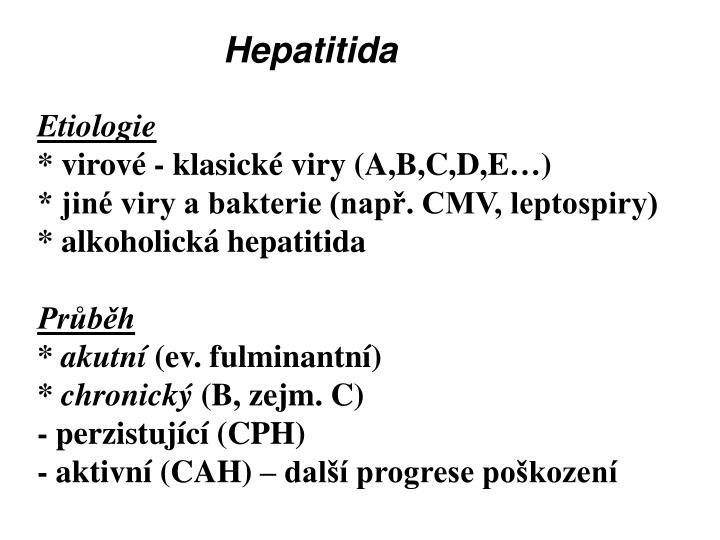 Hepatitida