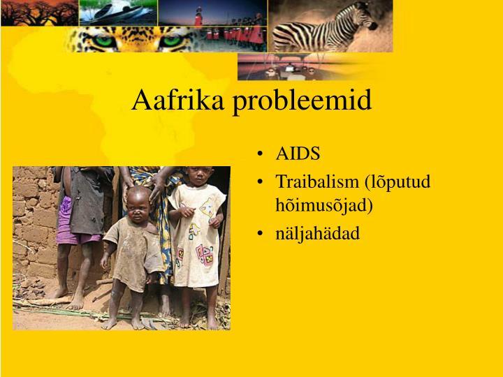 Aafrika probleemid