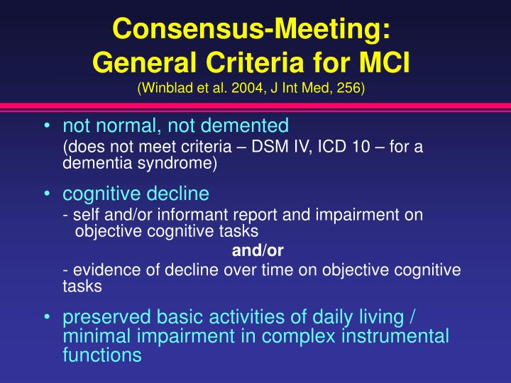 Consensus-Meeting: