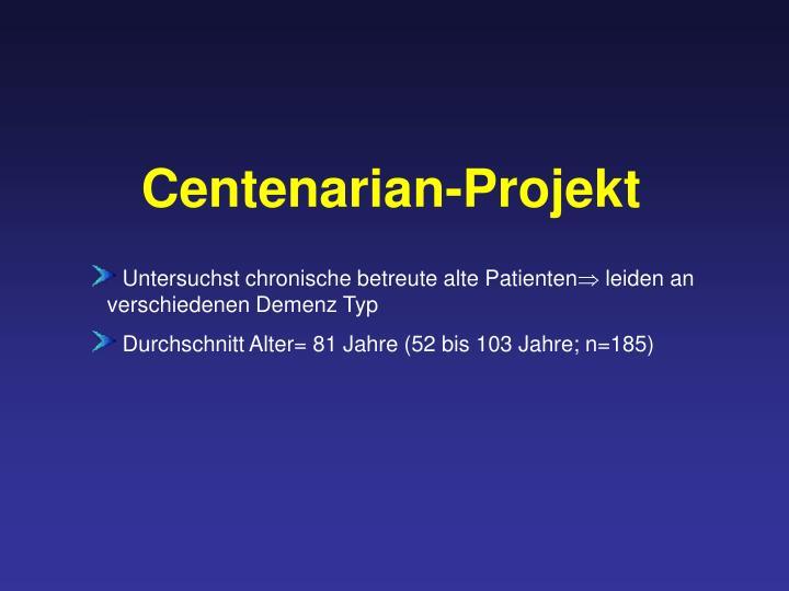 Centenarian-Projekt