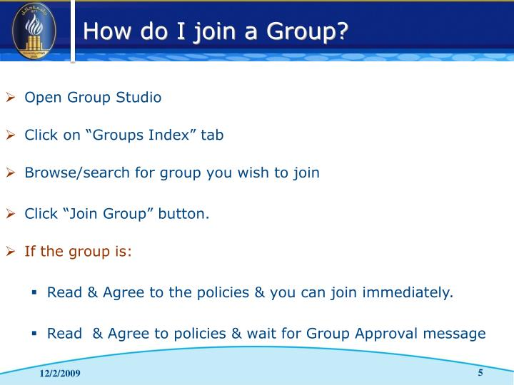 Open Group Studio
