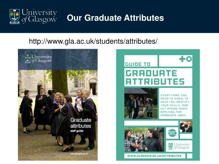 Our Graduate Attributes