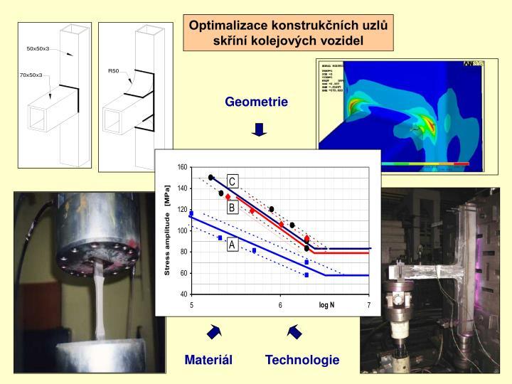 Optimalizace konstrukčních uzlů