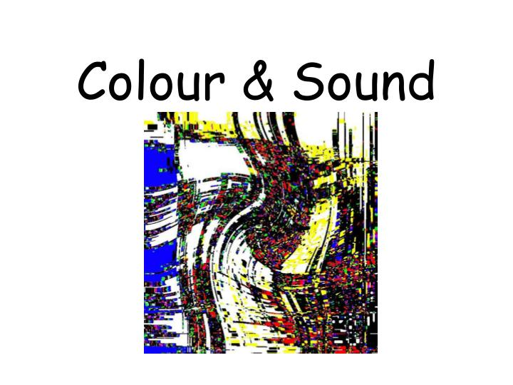 Colour sound