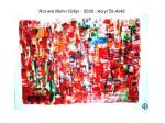 rot wie mohn silly 2003 acryl 59 4x42