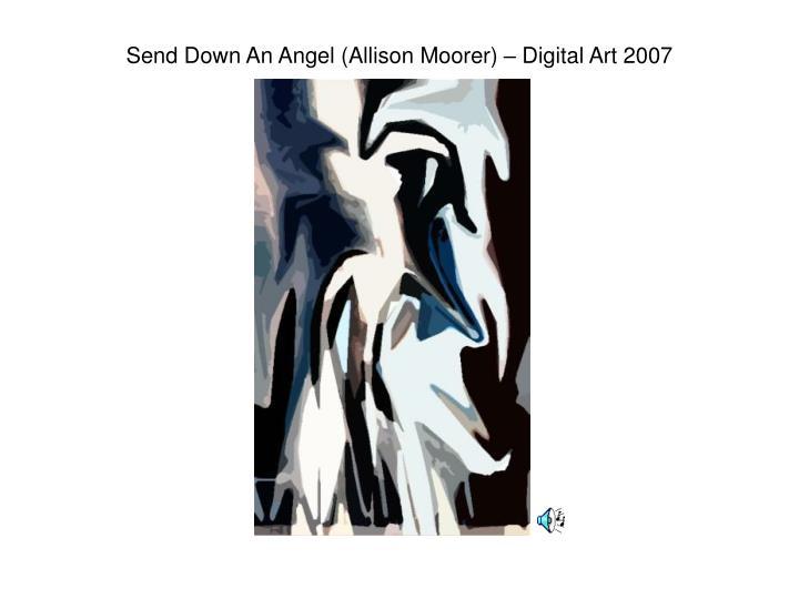 Send Down An Angel (Allison Moorer) – Digital Art 2007