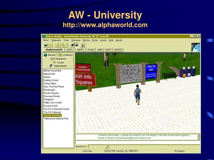 AW - University