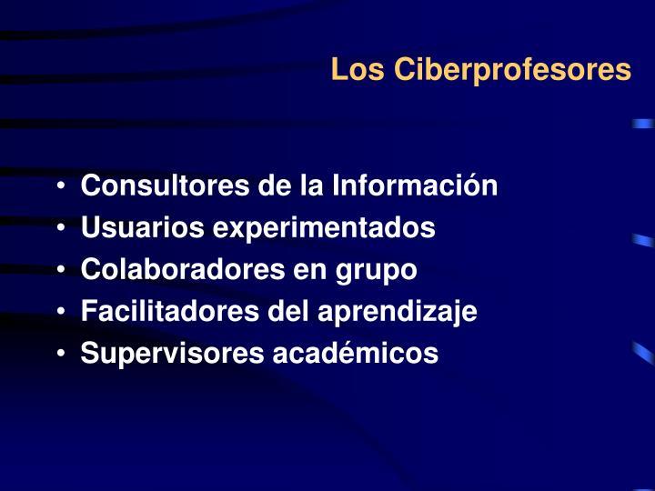 Los Ciberprofesores