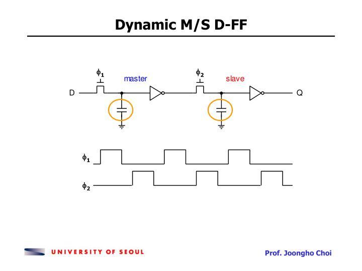 Dynamic M/S D-FF
